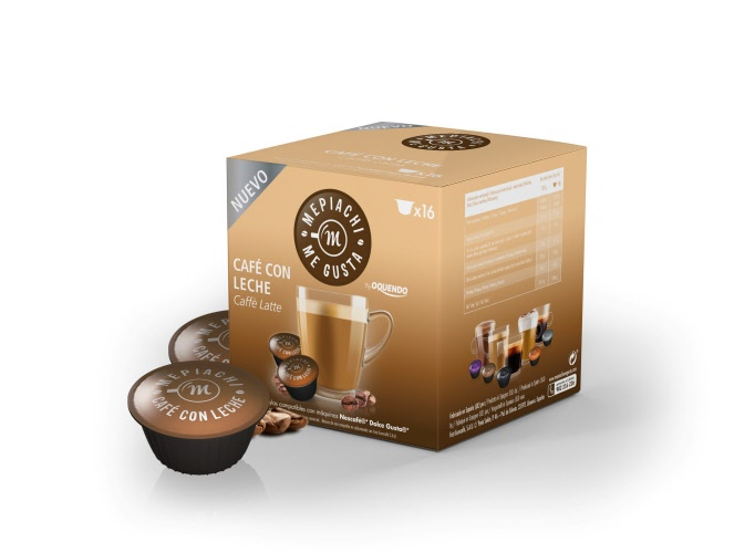 caf latte dolce gusto compatible capsules. Black Bedroom Furniture Sets. Home Design Ideas
