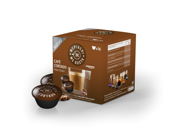 Cafe Cortado Macchiato Dolce Gusto Compatible Capsules